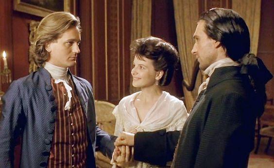 Catherine apresentando seu marido Edgar Linton a Heathchliff