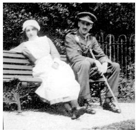 Vera e Edward em 1915
