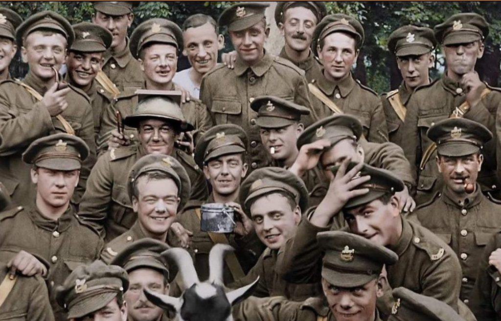 Primeira Guerra Mundial No Documentário: Eles Não Envelhecerão - blog de psicologia Melkberg - guerra - soldados - Peter Jackson - documentário - primeira guerra mundial - morte - jovens - trincheiras - passado - assistir - eles não envelhecerão